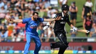 India vs New Zealand, 1st ODI: New Zealand 157 all out! Record 2nd lowest score in New Zealand against India
