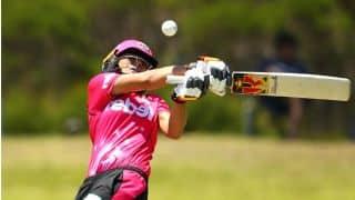 Ashleigh Gardner struck by ball on helmet; ruled out of next WBBL match