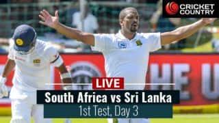 Live Cricket Score, South Africa vs Sri Lanka, 1st Test, Day 3: STUMPS