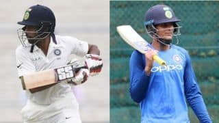 Wriddhiman Saha, Shubman Gill to share captaincy for South Africa A unofficial Tests