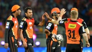 Live Cricket Scorecard: IPL 2015, Rajasthan Royals vs Sunrisers Hyderabad, Match 41 at Mumbai