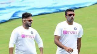 Pant dropped; Saha, Ashwin recalled for Vizag Test
