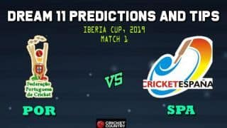 Dream11 Team Portugal vs Spain Iberia Cup – Cricket Prediction Tips For Today's T20 Match 1 POR vs SPA at Cartagena, Murcia