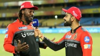 Chris Gayle to Virat Kohli: It is a privilege to watch you from the other end