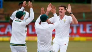 Bangladesh vs South Africa, 1st Test, Day 4: Proteas need 7 wickets to win at stumps