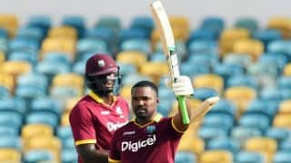 Darren Bravo's century propel West Indies to 285 against South Africa in Match 9 of Tri-Nation Series 2016