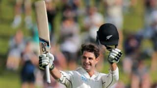 Colin de Grandhomme smashes second-fastest Test hundred for New Zealand, against West Indies
