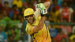 Faf du Plessis 'learning' the skill of finishing games with CSK in IPL 2015