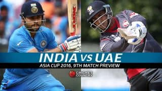 India vs United Arab Emirates (UAE), Asia Cup T20 2016, Match 9, Preview: Chance for MS Dhoni's men to test bench strength
