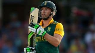 AB de Villiers once defeated Kevin Anderson in tennis