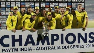 India vs Australia, 5th ODI: Usman Khawaja hits century, Australia beat India by 35 runs, clinch series 3-2