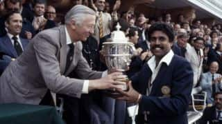 "World Cup Countdown: 1983 – ""Dark Horse"" India achieve World Cup glory at Lord's"