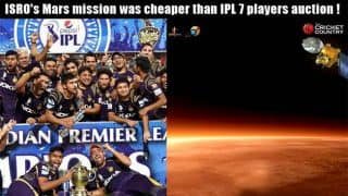 ISRO's Mars mission cheaper than IPL 7 players' auction