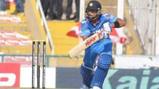 India vs New Zealand 2014, 1st ODI at Napier: India 98/3 in 24 overs