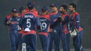 Nepal need 136 runs to beat World XI in earthquake fundraising T20 Match at Kuala Lumpur