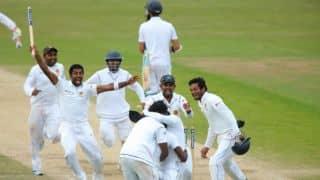 Sri Lanka win in dying minutes