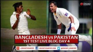 Live Cricket Score, Bangladesh vs Pakistan 2015, 1st Test at Khulna, Day 4: Bangladesh 273/0 in 61 Overs at stumps