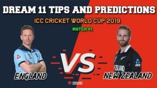ENG vs NZ Dream11 Prediction, Cricket World Cup 2019, Match 41: Best Playing XI Players to Pick for Today's Match between England and New Zealand at 3 PM
