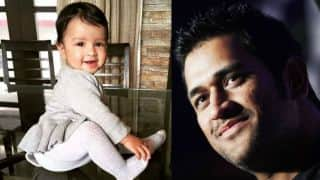 Have you seen these adorable picture of MS Dhoni's daughter Ziva?