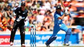 India vs New Zealand 5th ODI Live Cricket Score: India on the backfoot after 1st powerplay; score 20/2