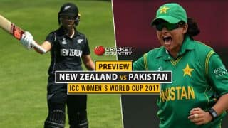 ICC Women's World Cup 2017: Pakistan in search of their first win against New Zealand