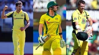 Starc, Smith and Warner left out of Pakistan ODIs in UAE