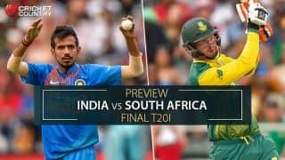 भारत बनाम दक्षिण अफ्रीका, तीसरा टी20 (प्रिव्यू): जीत के साथ दौरे को खत्म करना चाहेंगी दोनों टीमें