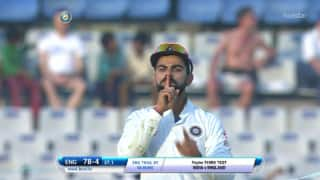 India vs England, 3rd Test: Virat Kohli answers Ben Stokes's war of words with special send off