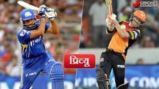 Mumbai Indians vs Sunrisers Hyderabad, IPL 2017, Match 10, preview: Mumbai Indians look to notch another win