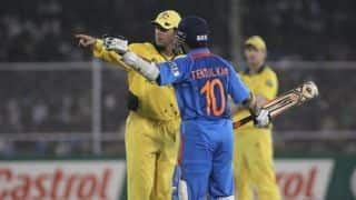 Sachin Tendulkar recalls fond memories of India's battle against Australia in 2011 World Cup