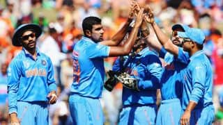 India win toss and elect to field against Zimbabwe in ICC Cricket World Cup 2015