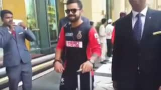 IPL 2016: Royal Challengers Bangalore welcomed by superb reception after playoffs qualification