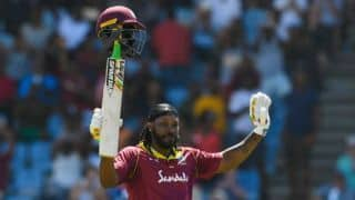 5th ODI: Gayle, Thomas star as West Indies crush England to level series