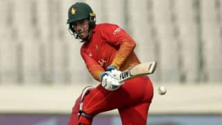 Brendan Taylor's century propels Zimbabwe to 333-5 against Afghanistan in 2nd ODI at Sharjah