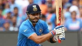 877d855e Virat Kohli falls for 91 during India vs Australia 2015-16, 1st ODI at