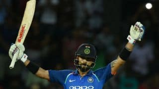 It wasn't a great batting performance from us, says Virat Kohli