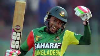 Asia Cup 2014: Mushfiqur Rahim leads from the front with a splendid century against India