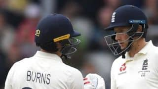 Ashes 2019: Rory Burns, Joe Root lead England's fightback on Day three in Manchester