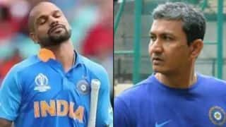 Cricket World Cup 2019: Batting coach sanjay bangar gives important update on Shikhar Dhawan's Thumb injury