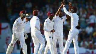 West Indies need 192 to win the 3rd Test against England and level the series