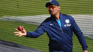 MS Dhoni visits Metropolitan Training centre in London