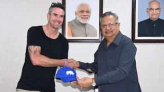 Kevin Pietersen expresses desire to conserve rare animals in Chhattisgarh