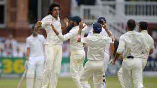 India tour of England 2014: Three quick strikes tilt balance in favour of India at the end of Day 4