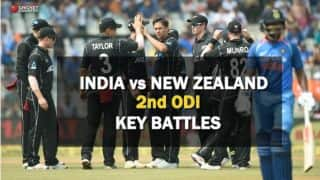 India vs New Zealand, 2nd ODI: Key battles
