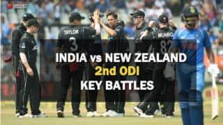 India vs New Zealand, 2nd ODI: Rohit Sharma vs Trent Boult and other key battles