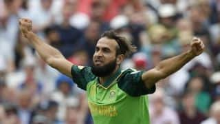 Cricket World Cup 2019: Always dreamt of playing 100 ODIs for South Africa – Imran Tahir