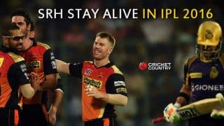 SRH to play Qualifier 2 following 22-run win in IPL 2016 Eliminator