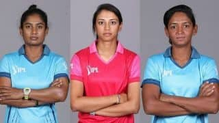 Harmanpreet Kaur, Smriti Mandhana and Mithali Raj to lead teams in Women's T20 Challenge