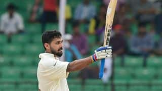 Murali Vijay scores 11th Test fifty during 2nd Test against Sri Lanka at Colombo