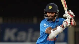 Shikhar Dhawan scores half-century against South Africa in ICC World T20 2016 warm-up match at Mumbai